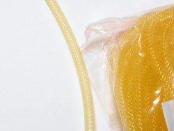 画像1: レジルネット(ネットチューブ、あみかん) 細 黄  5m